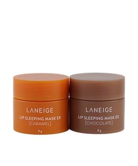 Bộ Mặt Nạ Ngủ Cho Môi Laneige Lip Sleeping Mask Caramel & Chocolate Kit 8g*2